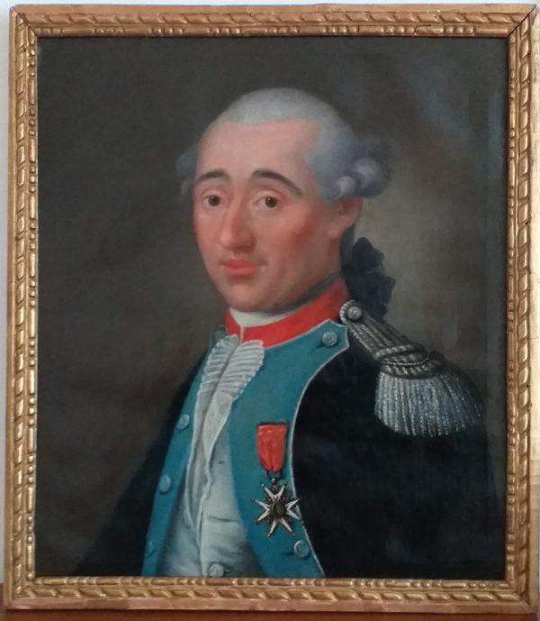 portrait officier 18ème